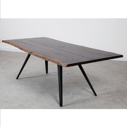 Nuevo Seared Oak Vega Dining Table
