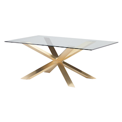 Nuevo Gold Couture Dining Table