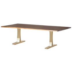 Nuevo Gold Toulose Dining Table