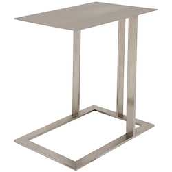 Nuevo Stainless Celine Side Table