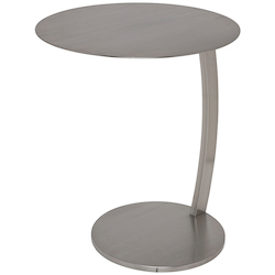 Nuevo Stainless Pria Side Table