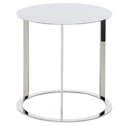 Nuevo Stainless Vera Side Table