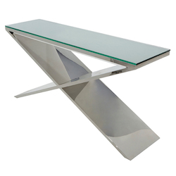 Nuevo Stainless Large Prague Console