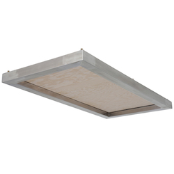 Nuevo Silver Lighting Panel Light Panel