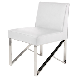 Nuevo White Jacqueline Dining Chair