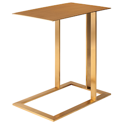 Nuevo Gold Celine Side Table