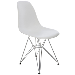 Nuevo White Max Dining Chair
