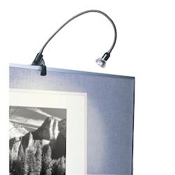 WAC US Black Contemporary In-Line Switch Display Picture Light