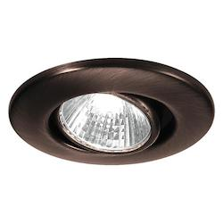WAC US Low Voltage Mini Recessed - Round Adjustable