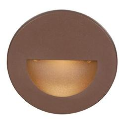 WAC US Bronze Led Circular Step Light From The Ledme Collection