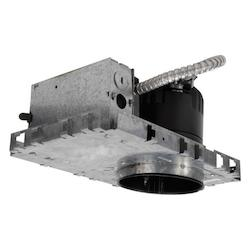 WAC US Ledme 4In.; Recessed Downlight With Emergency Backup - New Construction - Non-I
