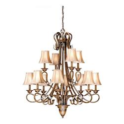 Vaxcel International Berkeley 12L Chandelier