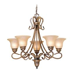 Vaxcel International Berkeley 5L Chandelier