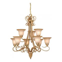 Vaxcel International Berkeley 9L Chandelier