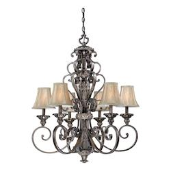 Vaxcel International Bellagio 6L Chandelier