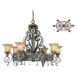 Vaxcel International Bellagio 8L 42In. X 26In. Pendant