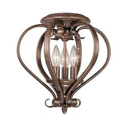 Vaxcel International Monrovia Open Ceiling Light In Rbz
