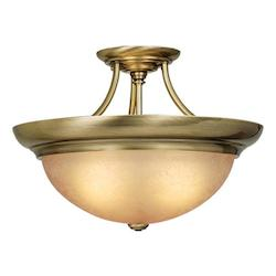 Vaxcel International 17In. Semi-Flush Celing Light