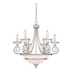 Vaxcel International Da Vinci 11 Light Chandelier