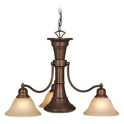 Vaxcel International Standford 4 Light Chandelier Rbz