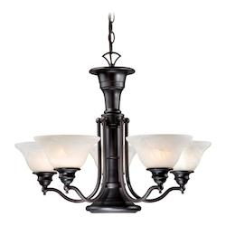 Vaxcel International Standford 6L Chandelier
