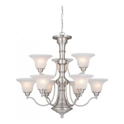 Vaxcel International Standford 9 Light Chandelier