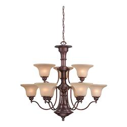 Vaxcel International Standford 9L Chandelier