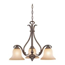 Vaxcel International Monrovia 3 Light Chandelier