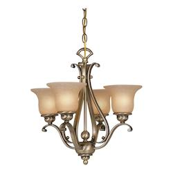 Vaxcel International Monrovia 4 Light Chandelier