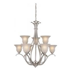 Vaxcel International Monrovia 9 Light Chandelier