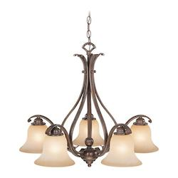 Vaxcel International Monrovia 5 Light Chandelier