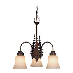 Vaxcel International Yosemite 3L Chandelier