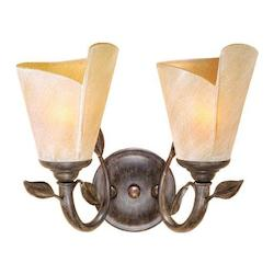 Vaxcel International Capri 2L Vanity Light