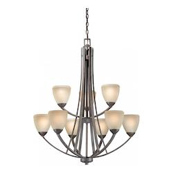 Vaxcel International Helsinki 9L Chandelier