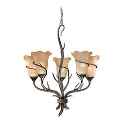 Vaxcel International Monterey 5L Chandelier
