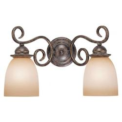 Vaxcel International Mont Blanc 2 Light Vanity Light