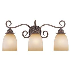 Vaxcel International Mont Blanc 3 Light Vanity Light