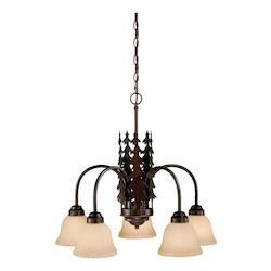 Vaxcel International Yosemite 5L Chandelier