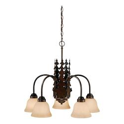 Vaxcel International Bozeman 5L Chandelier