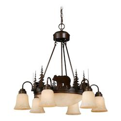 Vaxcel International Bozeman 9L Chandelier