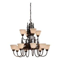 Vaxcel International Bryce 12L Chandelier