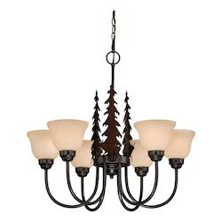 Vaxcel International Bryce 6L Chandelier