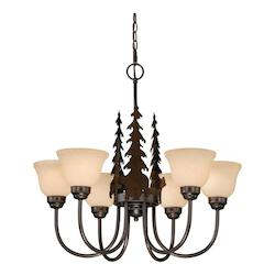 Vaxcel International Bozeman 6L Chandelier