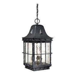 Vaxcel International Edinburgh 9In. Outdoor Pendant