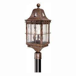 Vaxcel International Edinburgh 9In. Outdoor Post Light