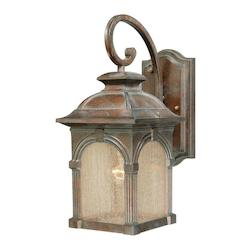 Vaxcel International Essex 7 In. Outdoor Wall Light Royal Bronze