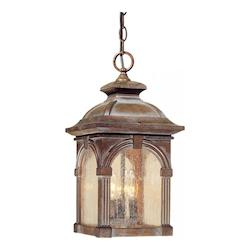 Vaxcel International Essex 9In. Outdoor Pendant