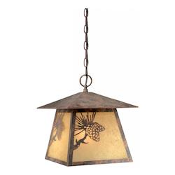 Vaxcel International Whitebark Outdoor Pendant