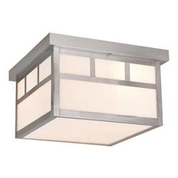 Vaxcel International Mission 12In. Ceiling Light