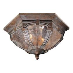 Vaxcel International Essex 13In. Outdoor Ceiling Light
